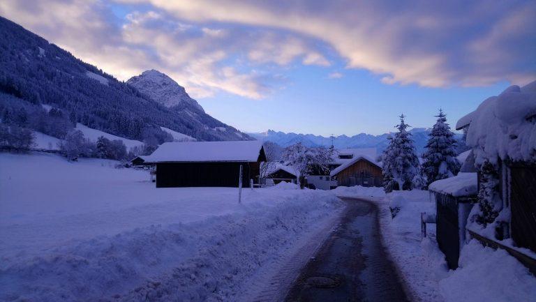 Winter-Weg